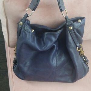 Rebecca Minkoff Nikki hobo bag in Lapis (blue)